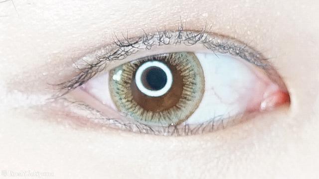 eye closet ワンデー スウィートシリーズ エアリーオリーブ