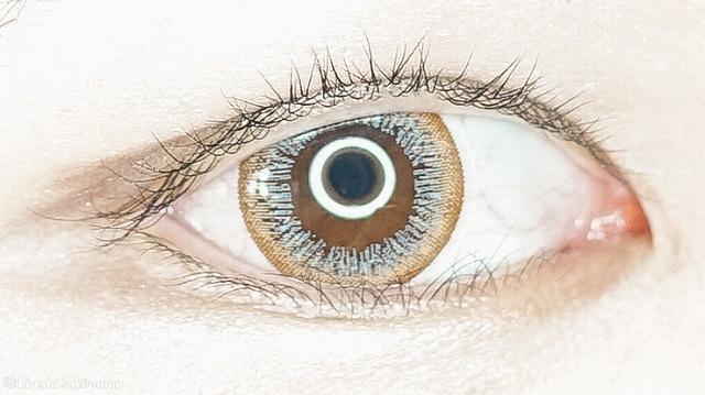 eye closet ワンデー スウィートシリーズ ブラウングレージュ