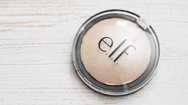 E.L.F. Cosmetics, ベイクド・ハイライター、ムーンライト・パール、0.17オンス(5 g)
