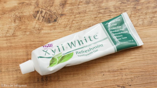 iHerbで買える歯磨き粉、Now Foods, ソリューション、Xyli−White(エキシリルホワイト)歯磨きジェル、リフレッシュミント